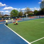 Tennis at After School Club
